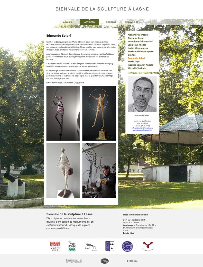 biennale-de-la-sculpture-à-lasne-edmundo-solari