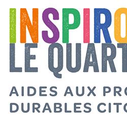 Affiche Inspirons le quartier – Appel à projets citoyens